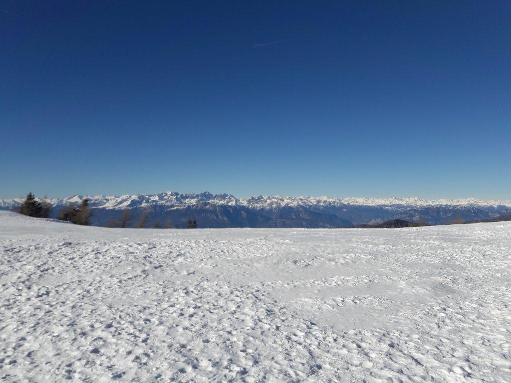 Panorama sul Brenta dal valico La Bassa, Lagorai